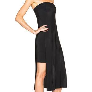 Helmut Lang Black Faint Dress